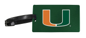 Miami Hurricanes Luggage Tag 2-Pack