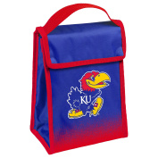 NCAA Kansas Jayhawks Hook and loop Lunch Bag, Team Colours, One Size