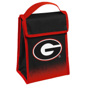 NCAA Georgia Gradient Hook and loop Lunch Bag, One Size, Team Colours