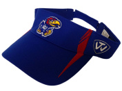 Kansas Jayhawks TOW Blue Range V Performance Adjustable Golf Visor Hat Cap