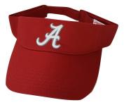 Alabama Crimson Tide Adult Team Logo Visor, Crimson
