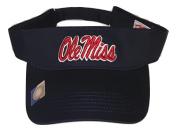 Mississippi Rebels Ole Miss Adult Team Logo Visor, Navy