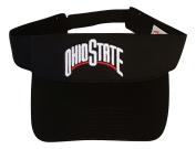 Ohio State Buckeyes Adult Team Logo Visor, Black