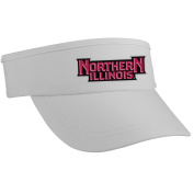 NCAA Northern Illinois Huskies High Performance Running/Outdoor Sports Super Visor, White