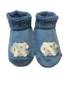 UNC Tar Heel Newborn Booties