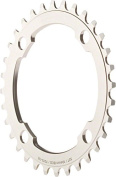 Dimension 36t x 104mm Middle Chainring Silver