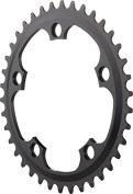 Dimension 38t x 110mm Middle Chainring Black