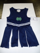 Two Feet Ahead Notre Dame Cheerleader Dress Size 4t