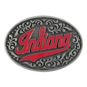 Indiana Script Pewter Buckle for 3.8cm - 4.4cm Belts. IUBB2 IMC-Retail