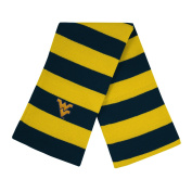 West Virginia University Knit Rugby Scarf