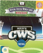 NCAA Men's College Baseball World Series Patch Authentic Official Jersey Logo