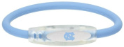 NCAA North Carolina Tar Heels Active Wristband, Blue, Medium