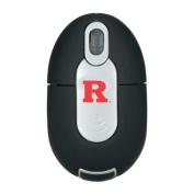 NCAA Rutgers Scarlet Knights Mini Wireless Optical Mouse