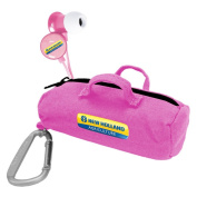 New Holland AG Pink Scorch Earbuds w/ Budbag