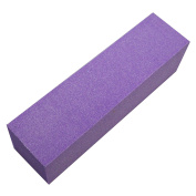 NB24 Buffer 180 Grit Purple - 1 Set of Tools and Accessories Sand Paper Pads Sandpaper Buffer Buffing Sanding Block Files of Artificial Fingernails Pedicure