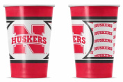 Nebraska Cornhuskers Disposable Paper Cups