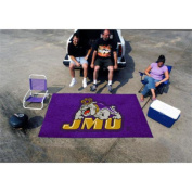 "Fanmats Team Support Outdoor Sports Carpet Decorative Accessories Logo Printed James Madison Ulti-Mat 60""96"""