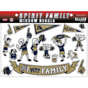 NCAA Pittsburgh Panthers Family Decals Sheet