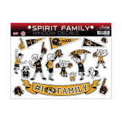 NCAA Missouri Tigers Family Decals Sheet
