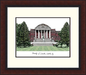 """Campus Images """"University of Louisville Legacy Alumnus"""" Lithographic Print"""