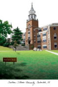 """Campus Images """"Southern Illinois University"""" Lithographic Print"""
