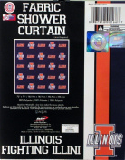 NCAA Illinois Illini Shower Curtain