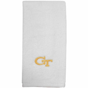 NCAA Georgia Tech Yellow Jackets White Embroidered Sports Towel