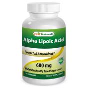 Best Naturals Alpha Lipoic Acid 600 mg 120 Capsules