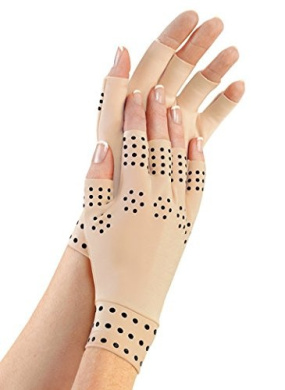 Aquarius Magnetic Therapy Arthritic Compression Gloves,  .   and Healing, Alleviate Symptoms of Arthritis, Relieve Joint Pain, Reduce Inflammation, Provide Extra Support to Weak Joints