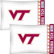 NCAA Virginia Tech Hokies Football Set of Two Pillowcases