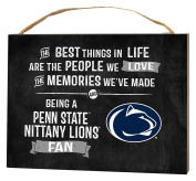 KH Sports Fan 1000101397 10cm x 14cm Penn State Nittany Lions Best Things Small Collage Plaque