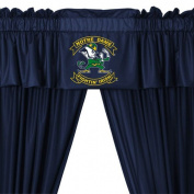 Notre Dame Fighting Irish Long Curtains-Drapes Valance Set