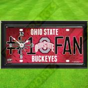 OHIO STATE BUCKEYES NCAA CLOCK - BY TAGZ SPORTS