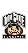7.6cm Brutus OSU Ohio State University Buckeyes Removable Wall Decal Sticker Art NCAA Home Decor 7.6cm wide by 8.9cm tall