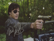DAVID MORRISSEY THE WALKING DEAD Hand Signed 12x8 Photo IMG03 AUTHENTIC + COA
