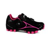 Spiuk Risko MTB - Unisex cycling shoes, colour black / fuchsia, size 49