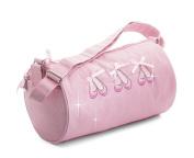 Beautiful Girls Pink Sparkly Shimmer Ballet Dance Shoe Shoulder Bag By Katz Dancewear KB99 Christmas Birthday Present