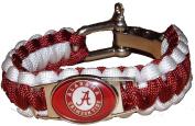 NCAA Paracord Bracelet - Alabama Crimson Tide Football Team Survival Paracord Bracelet