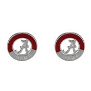 Alabama Two-tone Logo Stud Earrings