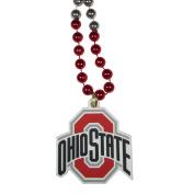NCAA Ohio State Buckeyes Mardi Gras Necklace, 90cm