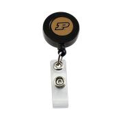 NCAA Purdue Boilermakers Sports Collegiate Team Logo Retractable Badge Reel Id Ticket Clip