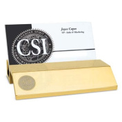 Wake Forest Gold Business Card Holder