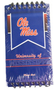 NCAA Officially Licenced Ole Miss Rebels 3 Pack Spiral Memo Book