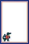 Florida Gators 15cm x 10cm 75 Sheet Magnetic Notepad Gator