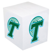 Tulane Green Wave Post-it Note Cube - Team Colour