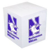 Northwestern Wildcats Post-it Note Cube - Team Colour