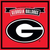 Turner Georgia Bulldogs Paper Cube