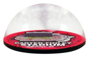 NCAA North Carolina State University Wolfpack Stadium in 5.1cm crystal magnetised paperweight with Coloured Window Gift Box
