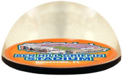 NCAA Florida Gators The Swamp in 5.1cm crystal Magnetised paperweight with Coloured Window Gift Box