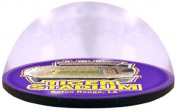 NCAA LSU Fightin Tiger stadium in 5.1cm crystal magnetised paperweight with Coloured Window Gift Box